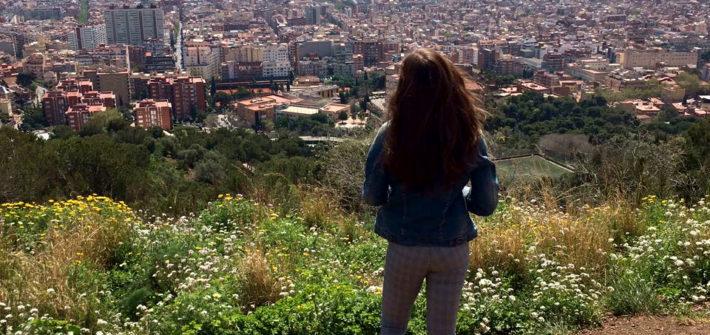 Barcelona von oben (c) Malina Heinitz