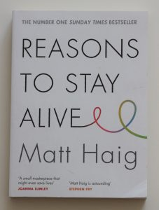 Reasons to Stay Alive - Cover